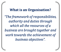 management and organisational structure business essay organisations